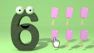 Min forste bok om tall (norsk) - lære barnet tall Tinyschool Norsk