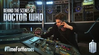 Behind The Scenes At Doctor Who