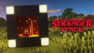 Stranger Syncs - Minecraft Music Visualizer