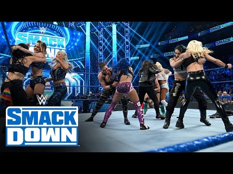 Banks, Cross, Carmella & Brooke vs. Ripley, Yim, Nox & Kai: SmackDown, Nov. 15, 2019