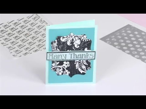 Making the Most of Your Used Sizzix Inksheets