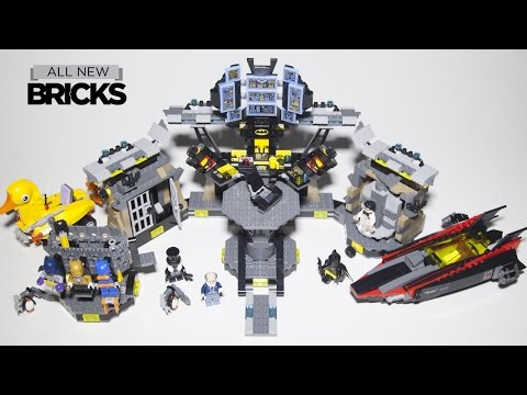 Vidéo LEGO The Batman Movie 70909 : Le cambriolage de la Batcave