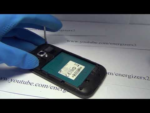 Samsung Galaxy Ace 2 GT-i8160  Disassembly Energizerx2