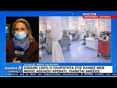 Γεμίζουν οι ΜΕΘ στα νοσοκομεία της Αττικής | 28/02/2021 | ΕΡΤ