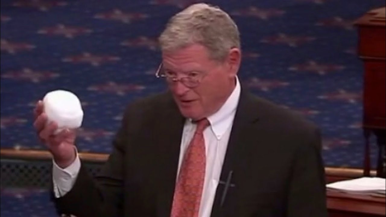 Senator Jim Inhofe Throws A Snowball On The Senate Floor thumbnail