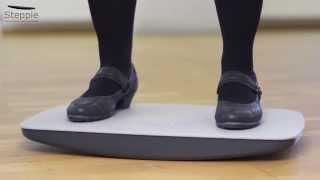 Балансировочная платформа Steppie Soft Top от компании ErgoLife - видео
