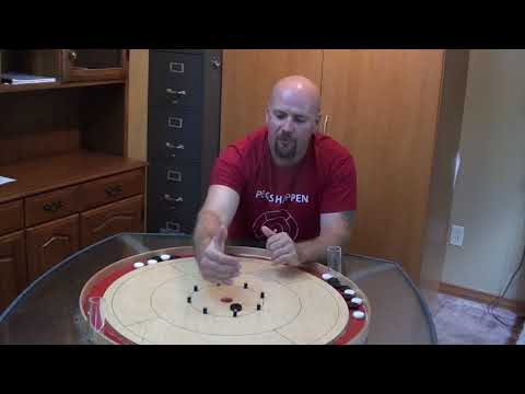 How to rebound off opponent's disc for a 20