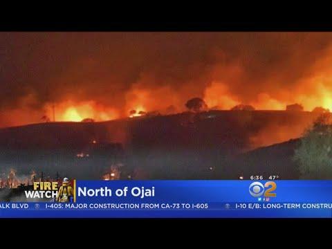132,000-Acre Thomas Fire Heads Toward Carpinteria