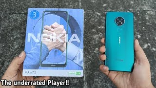 NOKIA 7.2 UNBOXING 6GB | CYAN GREEN | FIRST IMPRESSION!