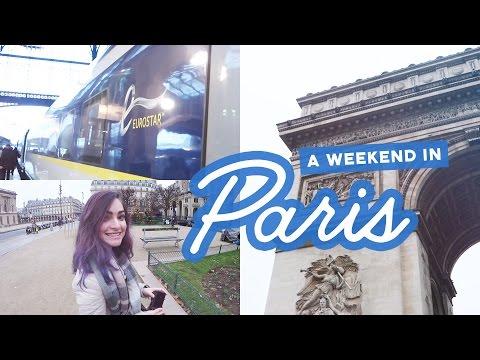 A Eurostar weekend trip to Paris   Travel vlog