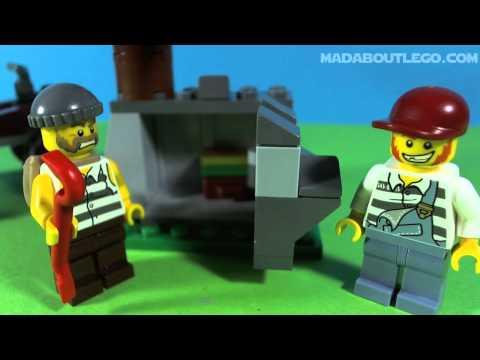 Vidéo LEGO City 4440 : Le poste de police en forêt