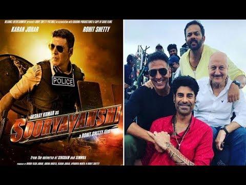 Sooryavanshi के set से  Akshay Kumar और Rohit Shetty के साथ  Sikander की  photo Viral हुई