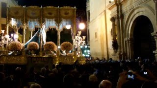 preview picture of video 'Recogida de la Virgen de los Dolores - Semana Santa Lorca 2013'