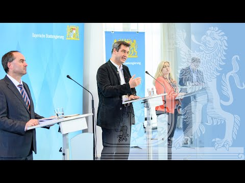 Pressekonferenz vom 07.04.2020 - in Deutscher Gebärdensprache