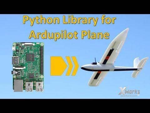 Python Plibrary for Ardupilot Plane