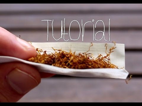 Bo's Raucherstube: Zigaretten drehen [Tutorial]