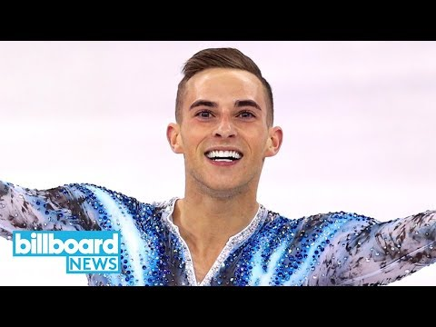 U.S. Olympic Skater Adam Rippon Performs to Coldplay, Gives Hilarious Interviews   Billboard News