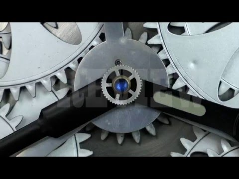 Analog Clock Gears 11