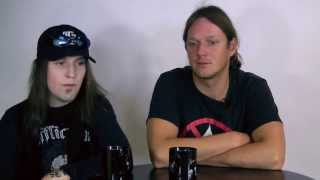 CHILDREN OF BODOM - Halo Of Blood (OFFICIAL TRACK BY TRACK PT 2)