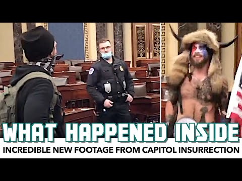 Incredible New Footage Shows What Happened Inside The Capitol