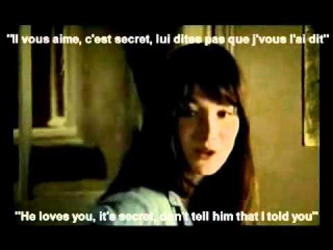 Carla Bruni - Quelqu'un m'a dit Lyrics + English Translation [on screen]