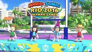 ENCORE LA MEDAILLE D'OR   TOURNOI MARIO ET SONIC AUX JO RIO 2016 WII U FR