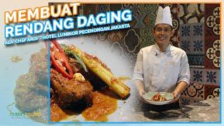 Resep Iduladha: Cara Masak Rendang Daging Sapi yang Empuk dan Enak