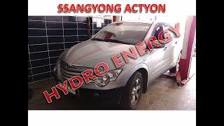 Ssangyong actyon sports hidrojen yakıt sistem montajı