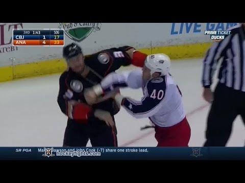 Jared Boll vs Clayton Stoner