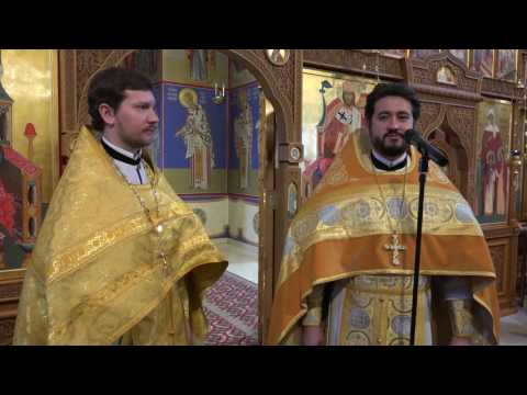 Иерей Игорь Миляев впервые совершил Литургию в Свято-Казанском храме