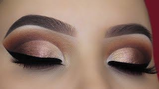 ABH SOFT GLAM Palette Cut Crease Tutorial