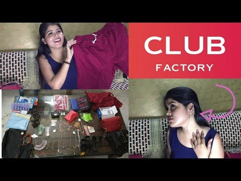 Club factory haul    club factory review    online shopping app    reviews in hindi