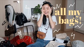 🎒MY DESIGNER BAG COLLECTION | Chanel, Louis Vuitton, Gucci, & Etc.👜