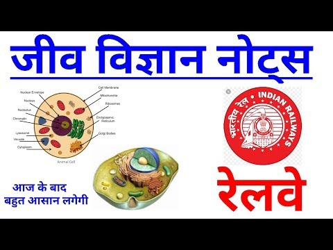 BIOLOGY in hindi|RRB Locopilot|Group D|Technician|Railways exam 2018|Biology MCQ|RRB Alp Science