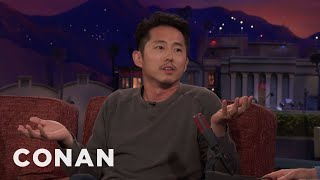 Steven Yeun: My Dad Thought I Was Doing Porn  - CONAN on TBS