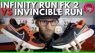 Nike ZoomX Invincible Run FK VS React Infinity Run FK 2 | Which should you buy? | NIKE 2021 | EDDBUD