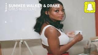 Summer Walker   Girls Need Love (Clean) Ft. Drake