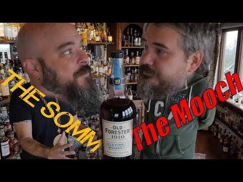 Whiskey Review: Old Forester 1910 Old Fine Whisky with Old Forester Classic Comparison