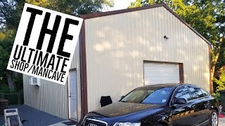 My Ultimate Man Cave/Shop