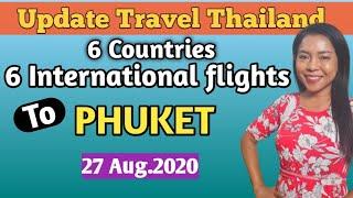 6 International flights to Phuket