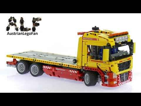 Vidéo LEGO Technic 8109 : Le camion remorque