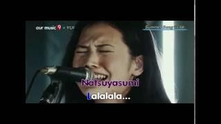 Yui -  Summer Song (Lyrics) live video