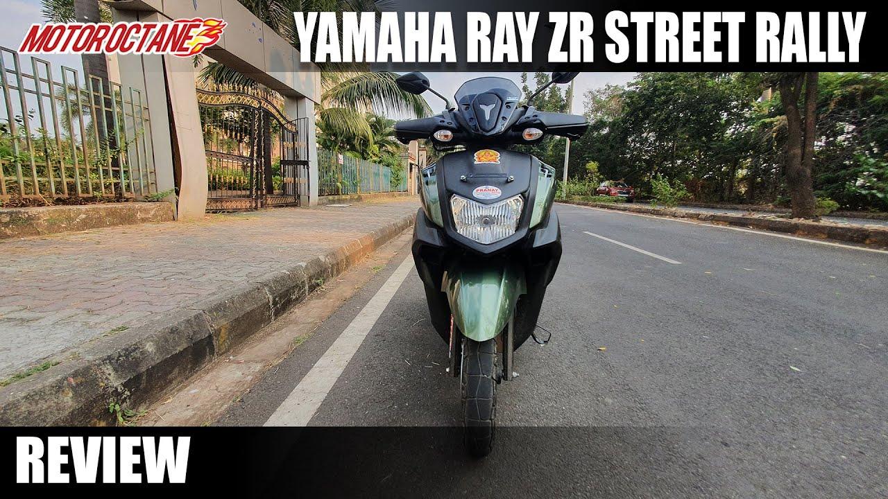 Motoroctane Youtube Video - Yamaha Ray ZR 125 Street Rally Edition - Value for Money?
