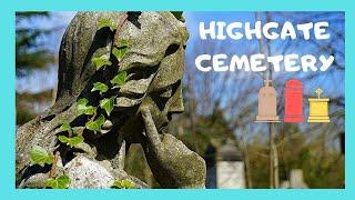 LONDON: Stunning Ancient Highgate Cemetery 😲, Lets Walk Along Its Hidden Paths!