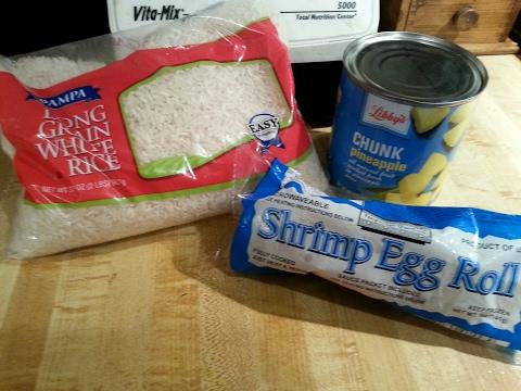 Dollar Tree Meal | Three Ingredient 'Egg Roll Rice'