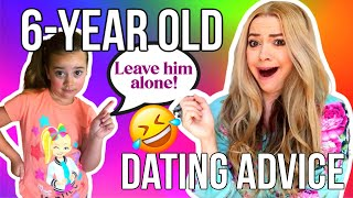 I Let My 6-Year Old Answer Dating Questions and the Results were SHOCKING!