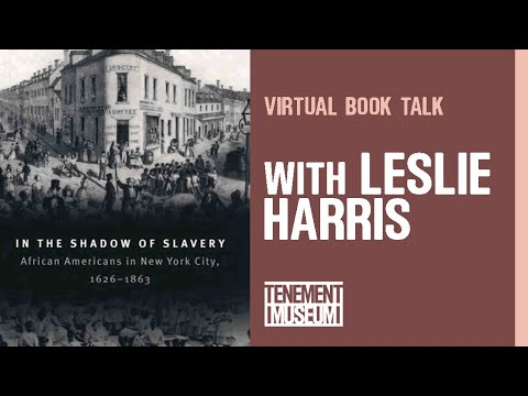 Book Talk: In the Shadow of Slavery