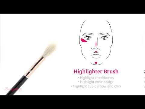 Boozyshop Boozyshop Ultimate Pro UP10 Highlighter Brush