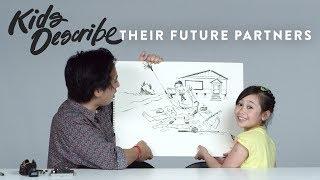 Kids Describe Their Future Partners to Koji the Illustrator | Kids Describe | HiHo Kids