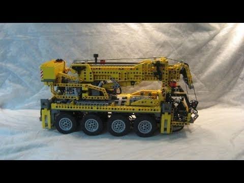 Vidéo LEGO Technic 8421 : La grue mobile